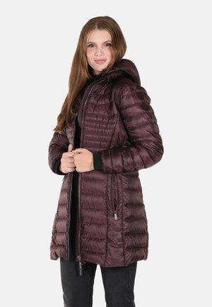 Winter jacket - dk. wine