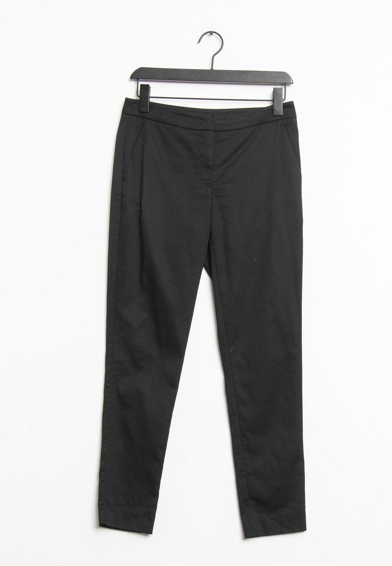 HALLHUBER - Trousers - black