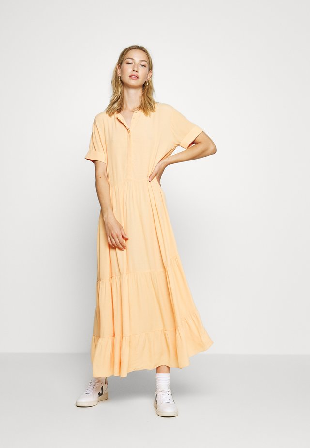 ENJULIET MAXI DRESS - Camicia da notte - salmon buff