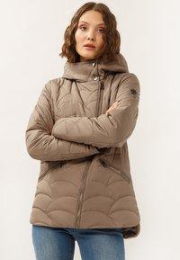 Finn Flare - MIT ASYMMETRISCHEM REISSVERSCHLUSS - Winter jacket - toffy - 0