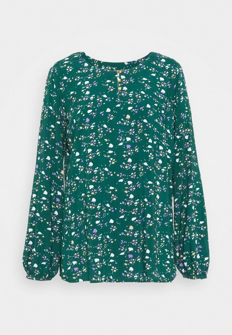 edc by Esprit - BLOUSE - Blusa - dark teal green