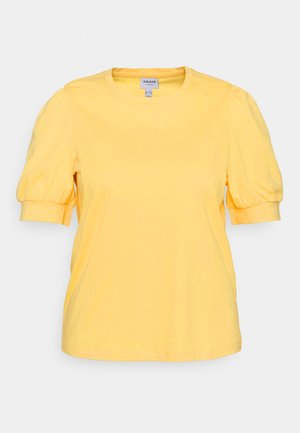 VMKERRY O NECK - Basic T-shirt - cornsilk