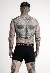 SIKSILK - TAPED 2 PACK  - Culotte - black/orange - 1
