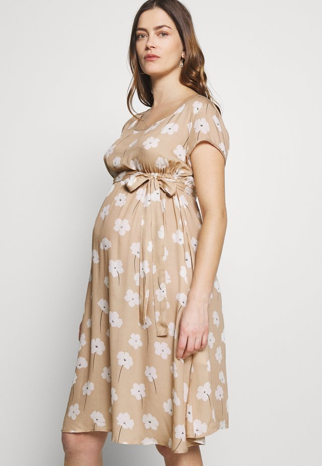DESERT LOVE - Vestido informal - light stone