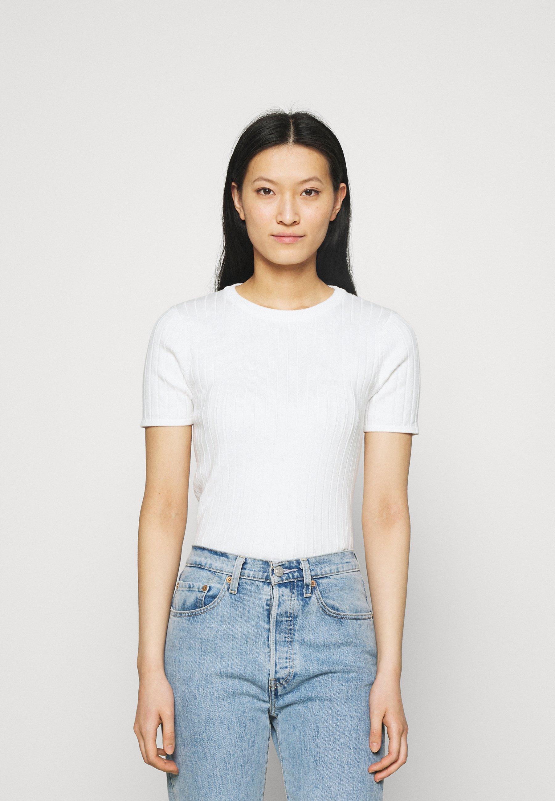 Women ESVINA O NECK - Basic T-shirt