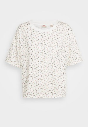 BOXY TEE - T-shirt print - cyprine tofu