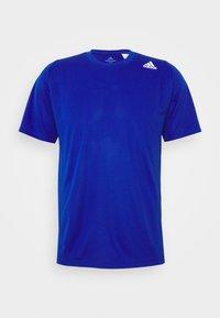 adidas Performance - T-shirt med print - royblu - 4