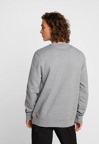 WeSC - MILES LOGO - Sweatshirt - medium grey melange - 2