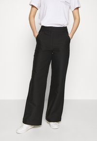 DESIGNERS REMIX - HAILEY FLARE - Trousers - black - 0
