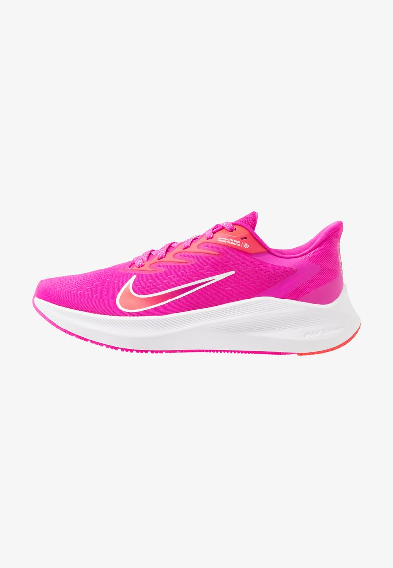 Nike Performance - ZOOM WINFLO  - Zapatillas de running neutras - fire pink/summit white/ember glow