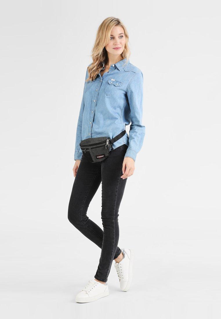 Eastpak - SAWER/CORE COLORS - Bum bag - black denim