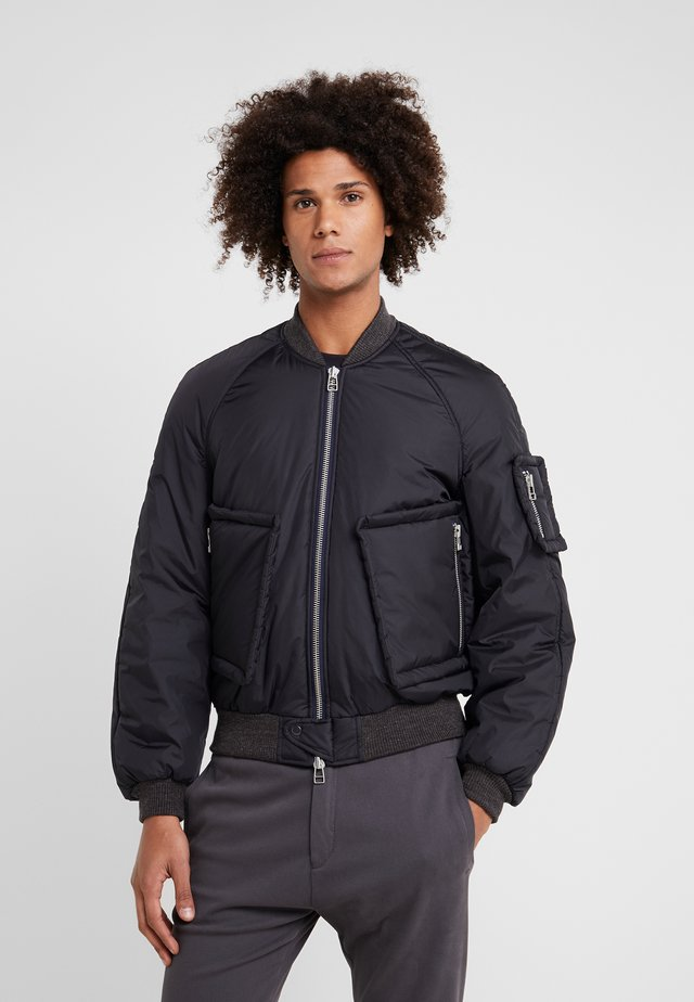 READ - Bomber Jacket - dark navy