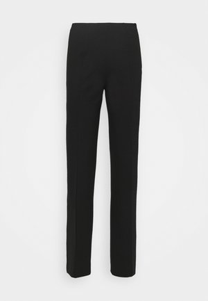 MALHIA WIDE - Trousers - black