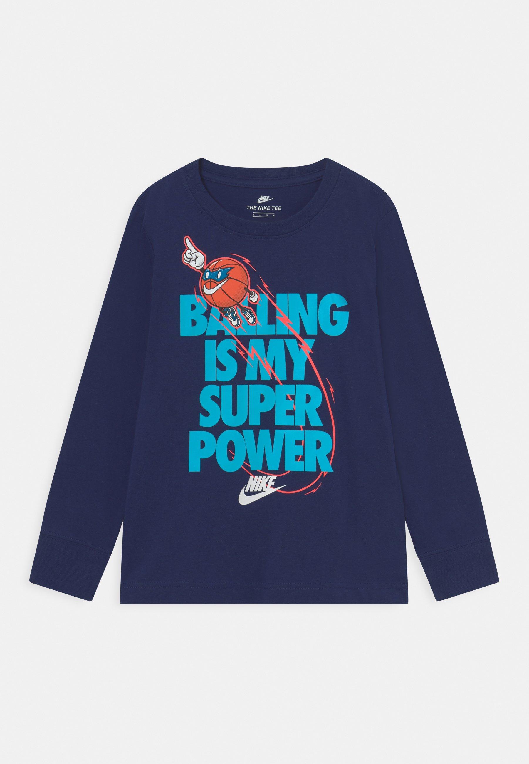 Kinder BALLING IS MY SUPER POWER - Langarmshirt