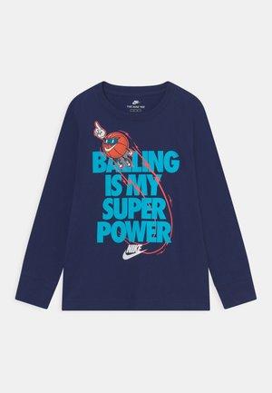 BALLING IS MY SUPER POWER - Pitkähihainen paita - blue void