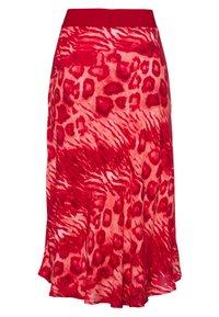 Marc Aurel - A-line skirt - red varied - 5