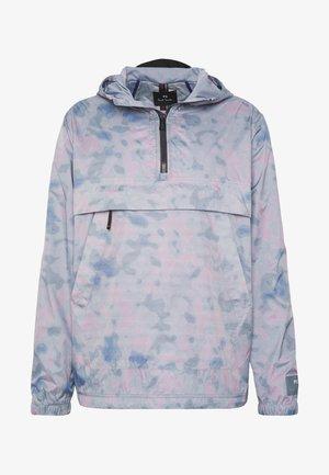 MENS OVERHEAD JACKET - Windbreaker - light blue/pink
