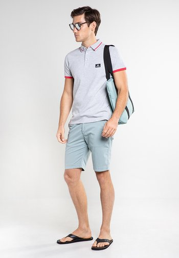 CÔTE D'AZUR - Polo shirt - grey