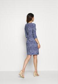Lauren Ralph Lauren Petite - CLEORA - Shift dress - black/blue/multi - 2