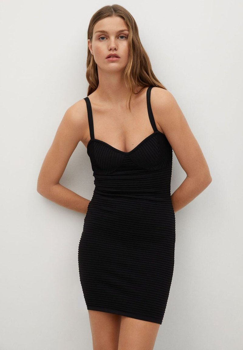 Mango - KENDALL - Cocktail dress / Party dress - svart