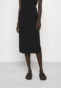 Filippa K - HONOR SKIRT - Pencil skirt - black - 0