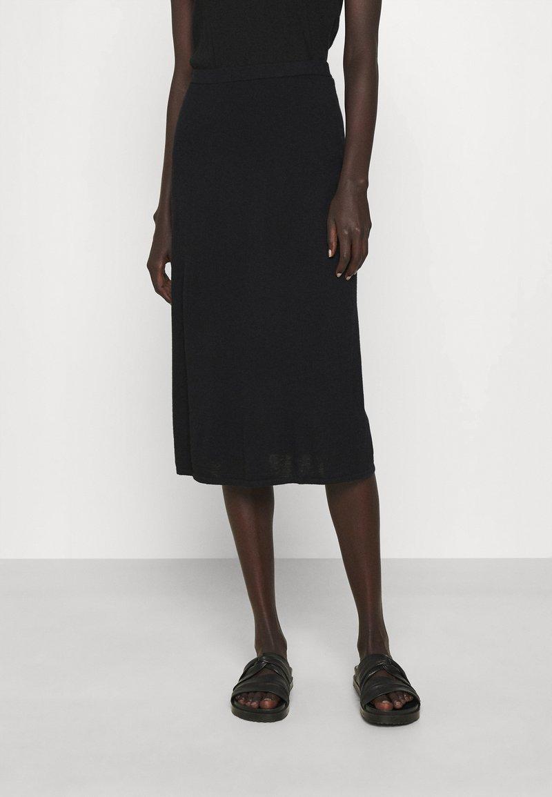 Filippa K - HONOR SKIRT - Pencil skirt - black