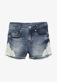 Blue Effect - GIRLS - Denim shorts - blue denim - 3