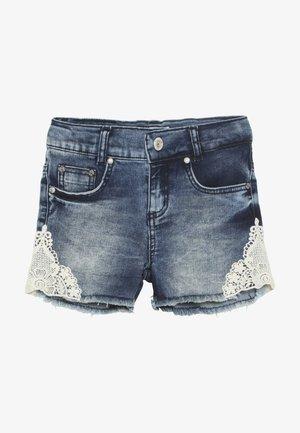 GIRLS - Denim shorts - blue denim