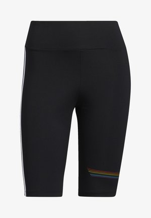 PRIDE BIKE SHORTS - Leggings - black