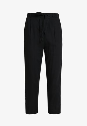 PALEY TROUSERS - Stoffhose - black