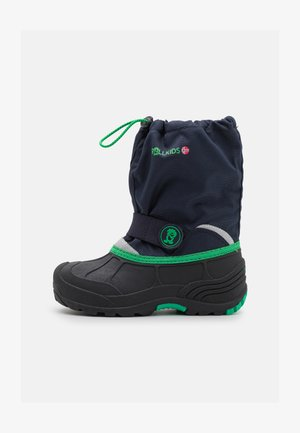 KIDS TELEMARK WINTER BOOT XT UNISEX - Bottes de neige - navy/viper green