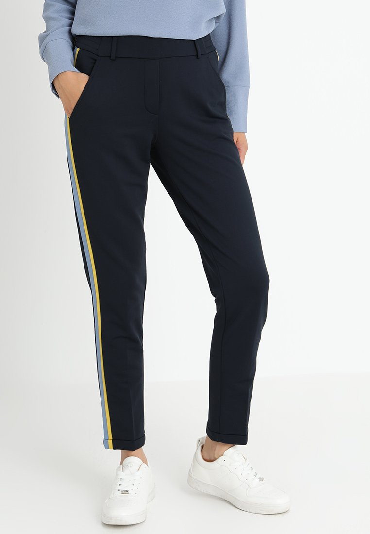 Opus - MADENI GALON - Trousers - simply blue