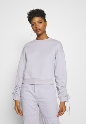 TIE SLEEVE - Sweatshirt - purple
