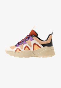 Monki - VEGAN SONIA - Sneakers - beige/lilac - 1