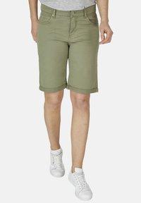 Angels - Denim shorts - khaki - 0