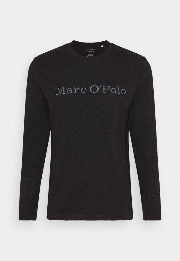 Marc O'Polo Bluzka z długim rękawem - black/czarny Odzież Męska SETO