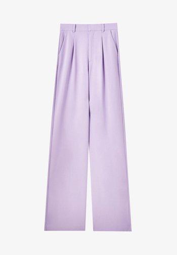 Trousers - mottled rose