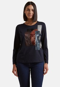 Elena Mirò - Print T-shirt - blu - 0