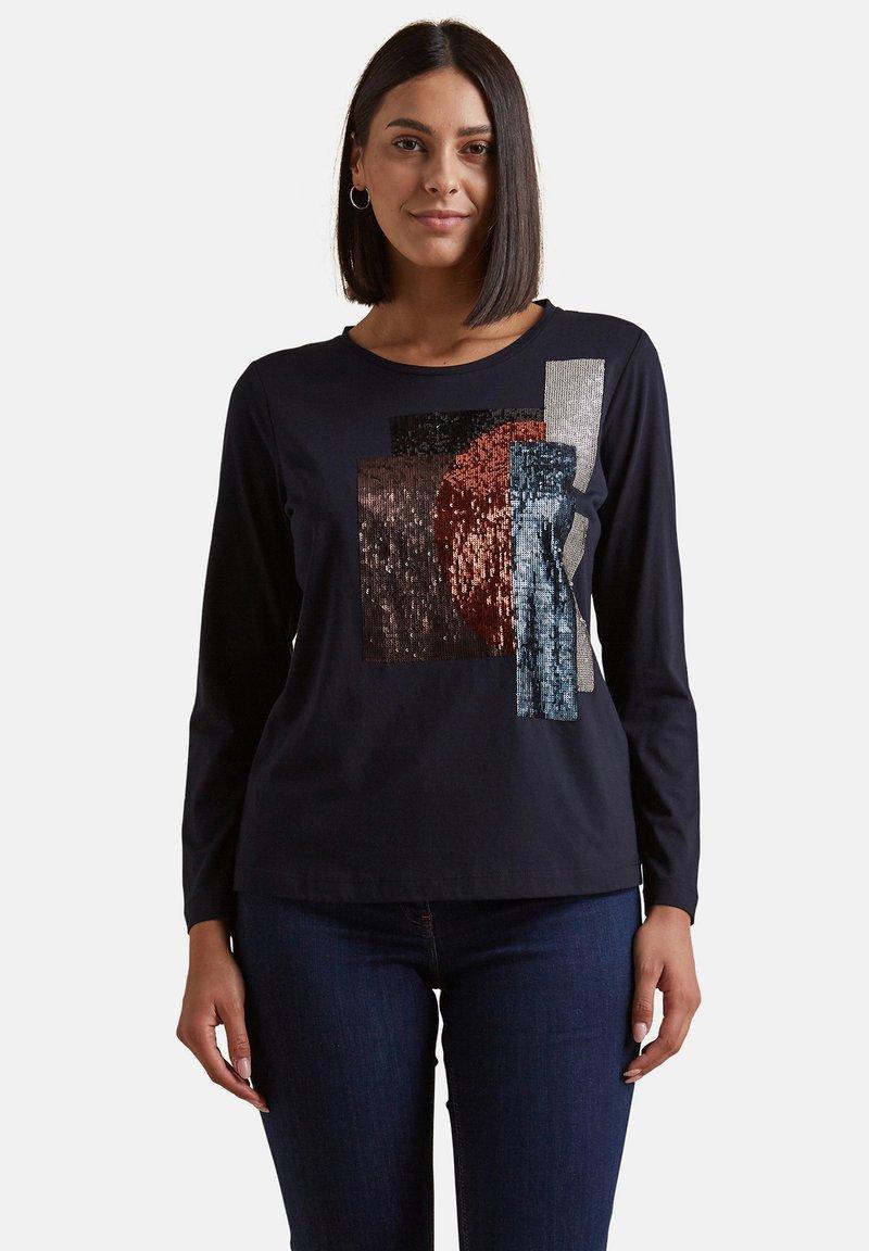 Elena Mirò - Print T-shirt - blu