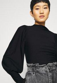 Gestuz - RIFAGZ PUFF - Sweatshirt - black - 5