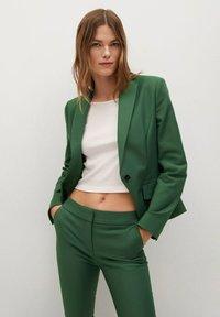 Mango - COFI - Pantalon classique - dark green - 3