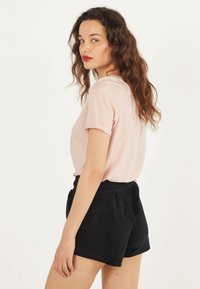 Bershka - Shorts - black - 2
