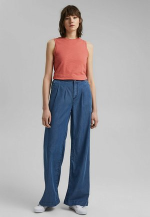 COO PALAZZO - Relaxed fit jeans - blue medium washed