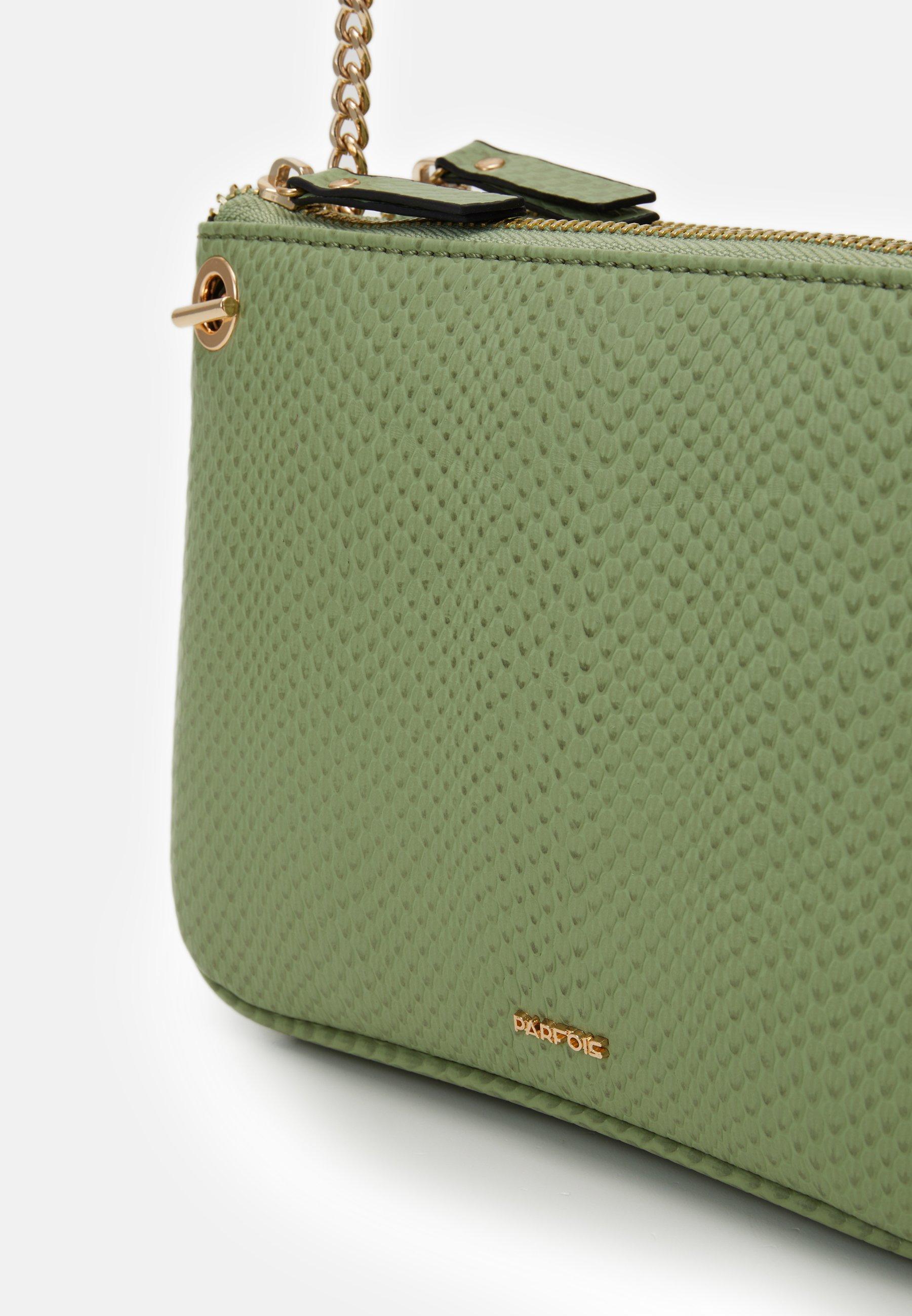 PARFOIS Skulderveske - green/grønn iGyRJu29BcYlhpX