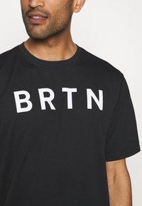 Burton - MULTIPATH - T-shirts med print - true black - 4