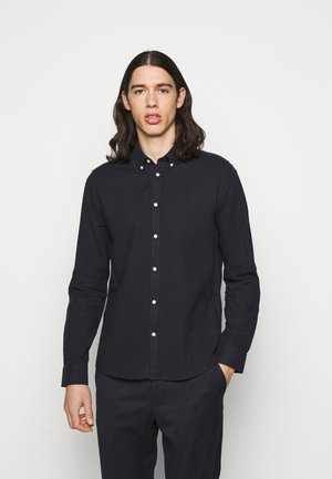 HOLDEN HERRINGBONE - Shirt - black