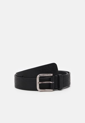 BOND HAMMERED BELT - Pásek - black