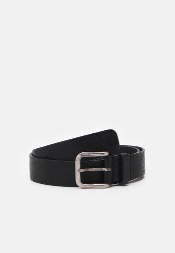 BOND HAMMERED BELT - Cintura - black