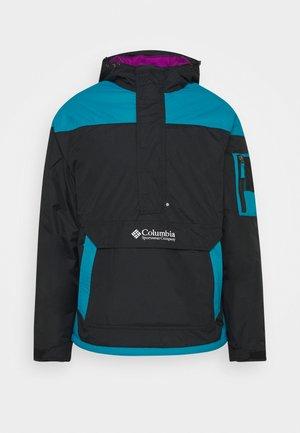CHALLENGER - Winter jacket - black/fjord blue