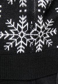 Jack´s Sportswear - XMAS ICEFLOWER - Jumper - black - 5